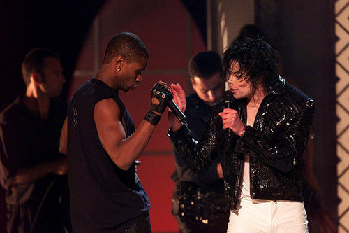 Usher and Michael Jackson >333