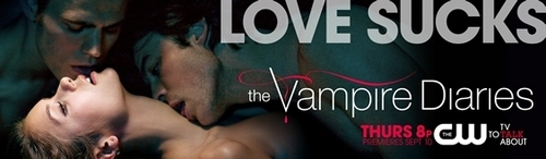 The Vampire Diaries wallpaper probably with a sign and anime titled Vampire Diaries promo posters