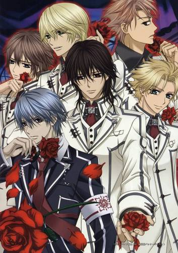 Vampire Knight karatasi la kupamba ukuta containing anime titled Vampire Knight