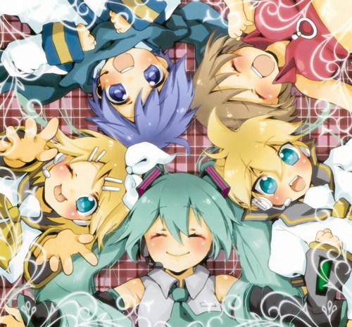 Vocaloids wallpaper titled Vocaloid