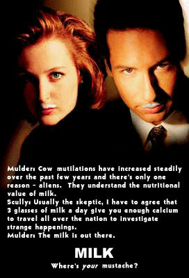 X-Files: Got Milk?