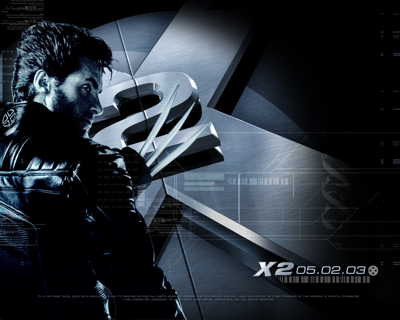 x men the movie x2 wallpapers. Black Bedroom Furniture Sets. Home Design Ideas