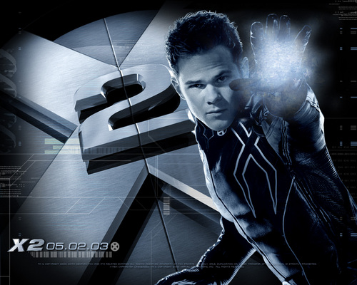 X-men THE MOVIE wallpaper probably with a sign and a turntable entitled X2 wallpapers