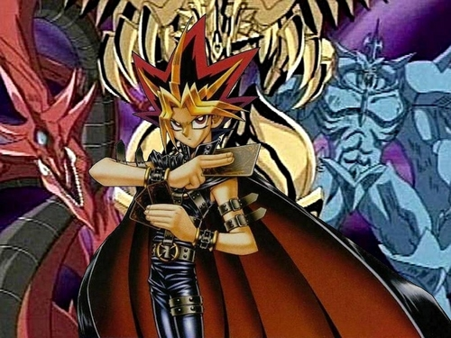 Yu-Gi-Oh wallpaper containing anime titled Yami Yugi