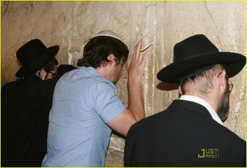 Zach at the Wailing Wall, June 21st 2009