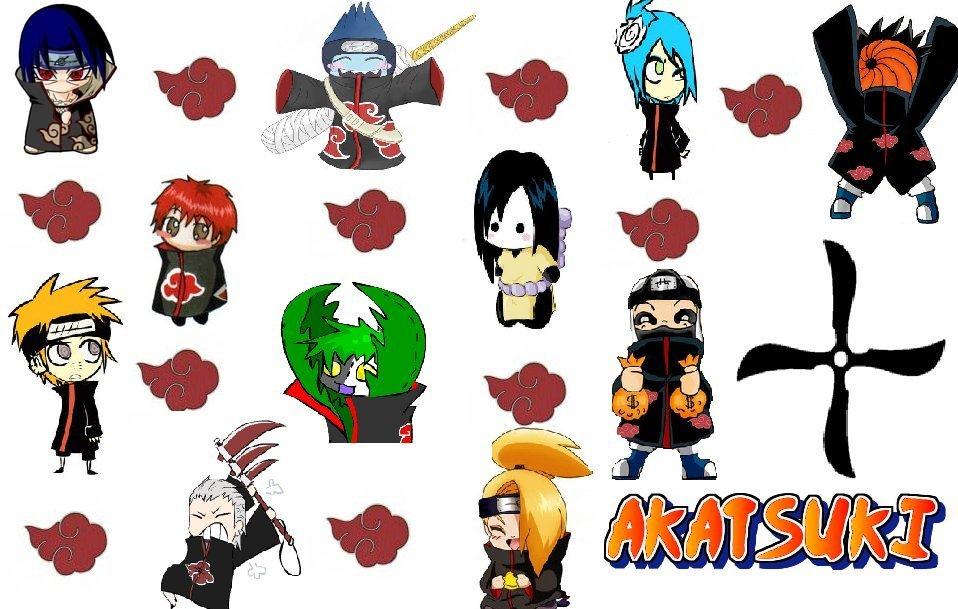 Chibi Akatsuki Naruto akatsuki chibi