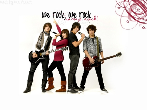 camp rock wolpeyper