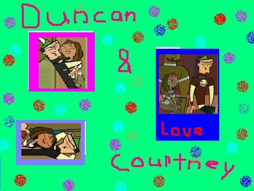 courtney and duncan Cinta