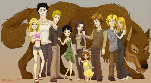 cullen family and jacob