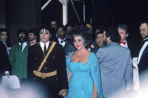 Elizabeth And Michael Jackson