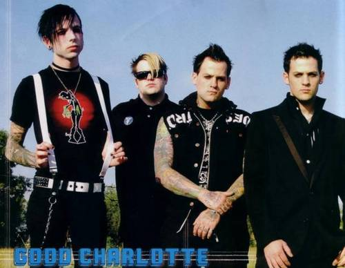 Good charlotte fond d'écran titled gc
