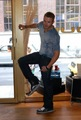 kellan gets new kicks - twilight-series photo