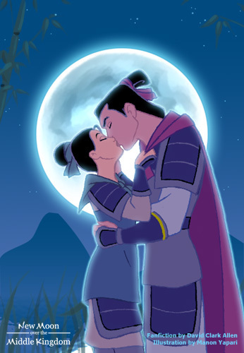 Mulan wallpaper probably containing anime entitled kiss