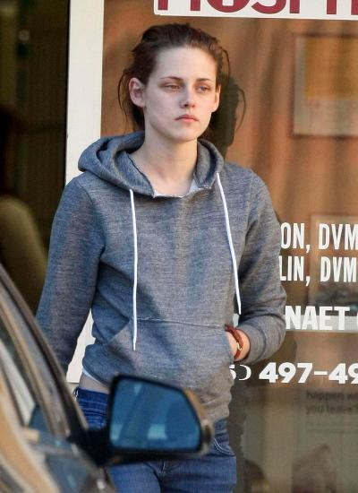 kristen stewart WITHOUT MAKEUP