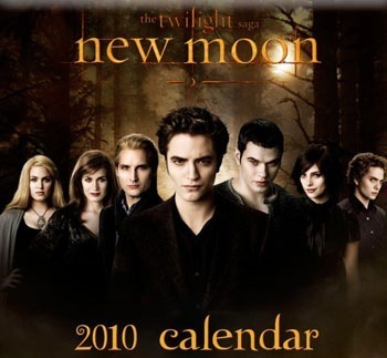 new moon 2010 cullen family calendar cover