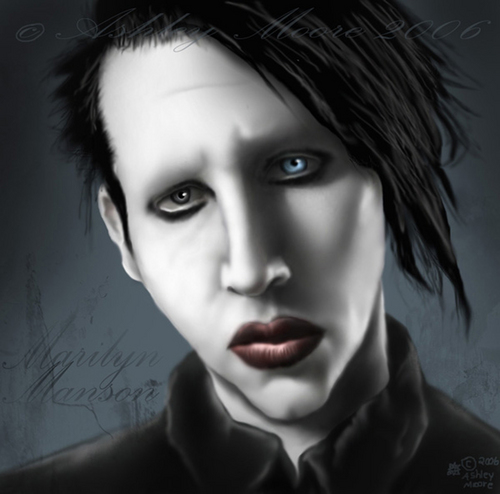 our personal jesus - marilyn-manson Photo