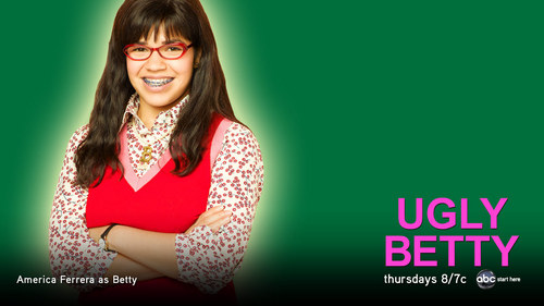 Ugly Betty wallpaper with a leotard titled ugly betty