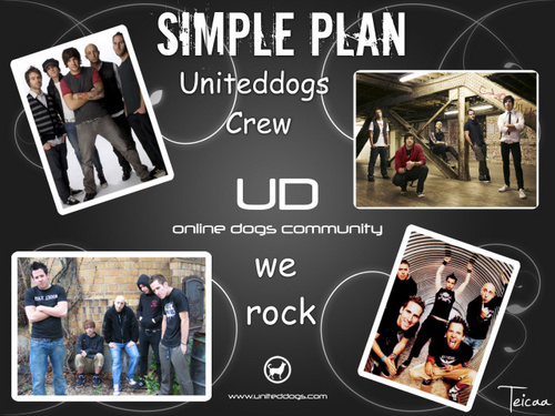 uniteddogs+simple plan - simple-plan Fan Art