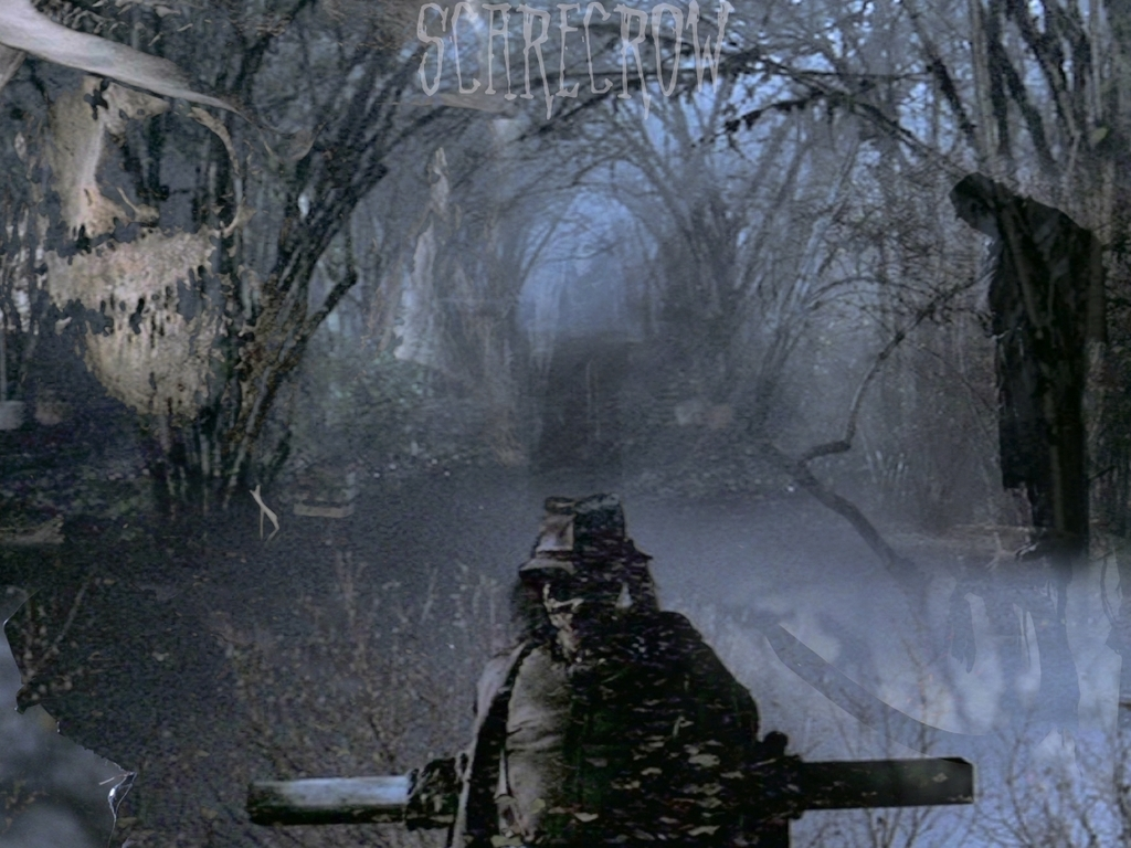 (1.11)Scarecrow Wallpaper - Supernatural Viewing Party Wallpaper (6960972) -