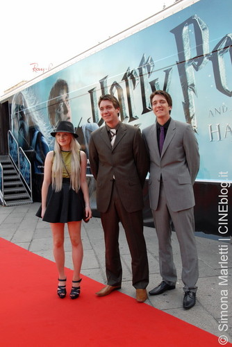 """Harry Potter and the Half Blood Prince"" Milan Train Launch"