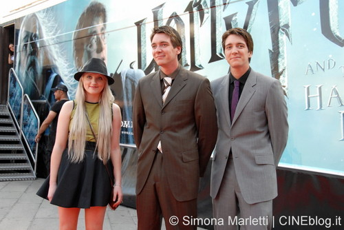 """""""Harry Potter and the Half Blood Prince"""" Milan Train Launch"""
