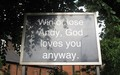A Sign from outside a church in Wimbledon  - andy-murray photo