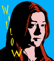 AgentCoop's Entry-Pop Art Willow With Text - fanpops-got-talent fan art