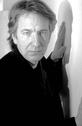 Alan Rickman - Black&White