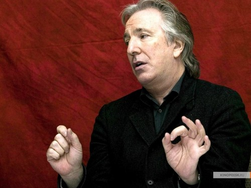 Alan Rickman / wallpaper