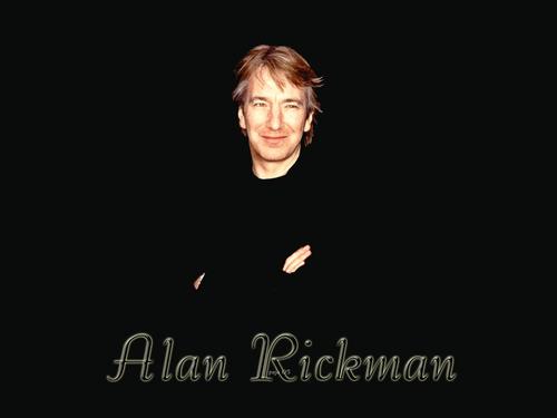 Alan Rickman/wallpaper