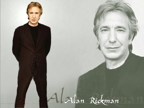 Alan Rickman/wallpaper