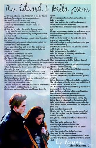 An Edward & Bella Poem
