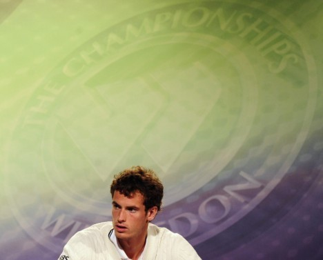 Andy at Wimbledon 2009 - andy-murray Photo