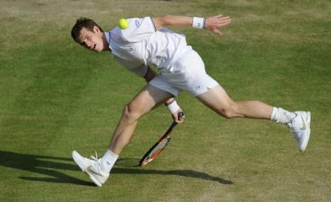 Andy at Wimbledon 2009