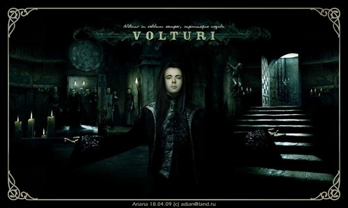 The Volturi wallpaper containing a street titled Aro