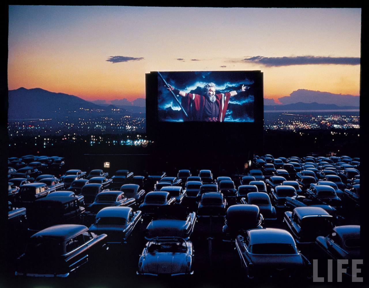 Classic Movies At The Drive-In