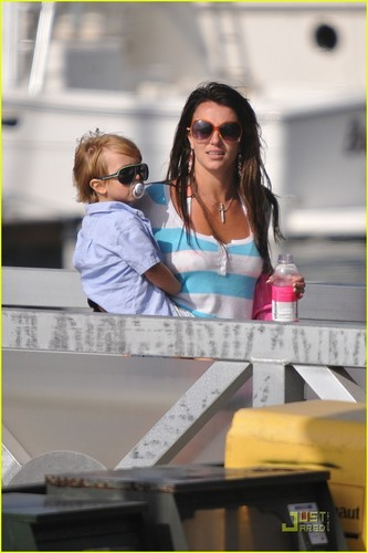 Britney in California