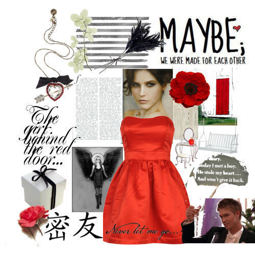 Brooke Davis-Girl Behind the Red Door
