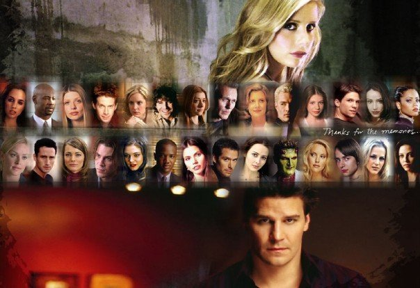 BtVS and Энджел casts