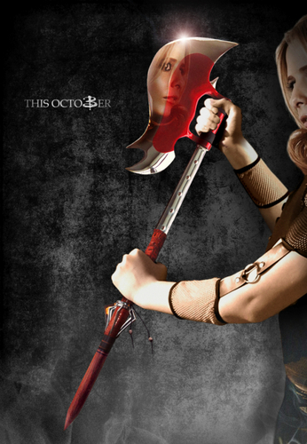Buffy the Vampire Slayer achtergrond called Buffy's poster