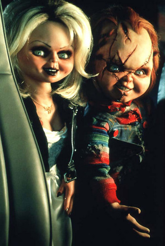 Chucky wallpaper entitled CHUCK&TIFF