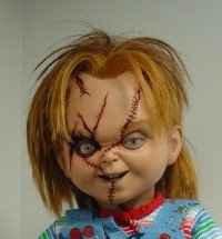 Chucky wallpaper containing a portrait titled ChUcKy ThE kIlLeR dOlL