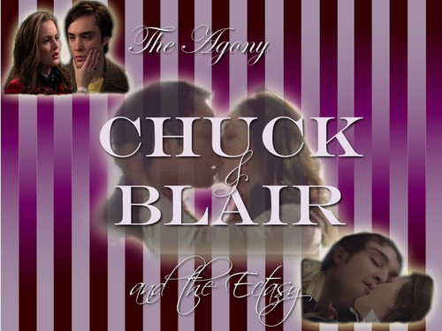 Blair & Chuck wallpaper with a portrait titled Chuck & Blair