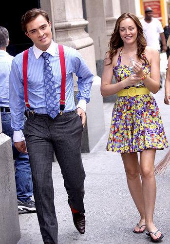 Gossip Girl fond d'écran titled Chuck & Blair