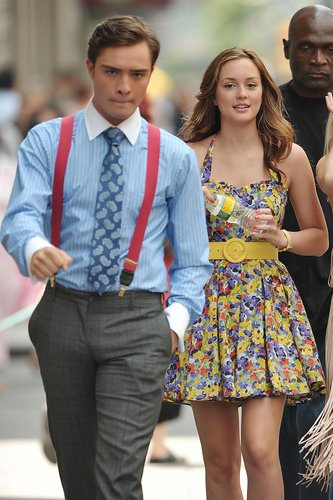 Are chuck and blair from gossip girl dating in real life