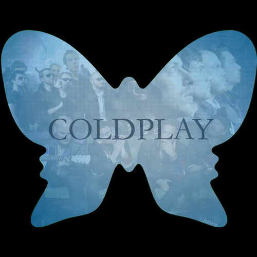 Coldplay farfalla