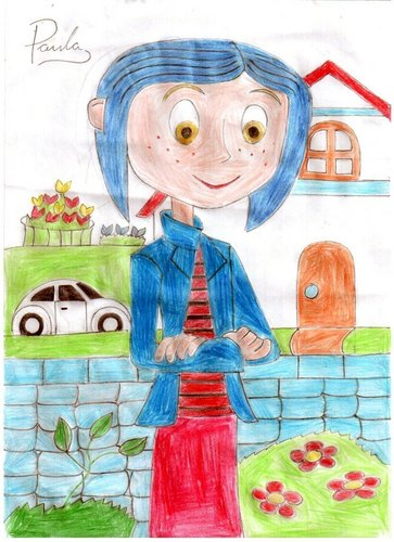 Coraline fan Art par Paula Williams
