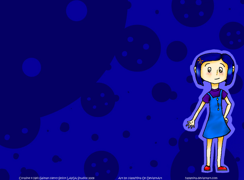 Coraline wallpaper titled Coraline Summer