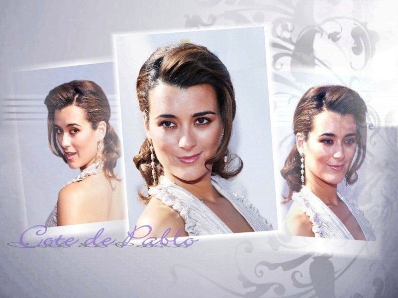 images of Cote Pablo Actress Arrives The Alma Awards