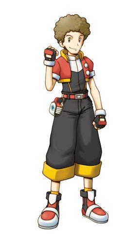 Pokemon Ranger Shadows of Almia achtergrond entitled Crawford